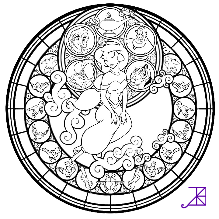 Cup clipart colouring page. Jasmine stained glass free