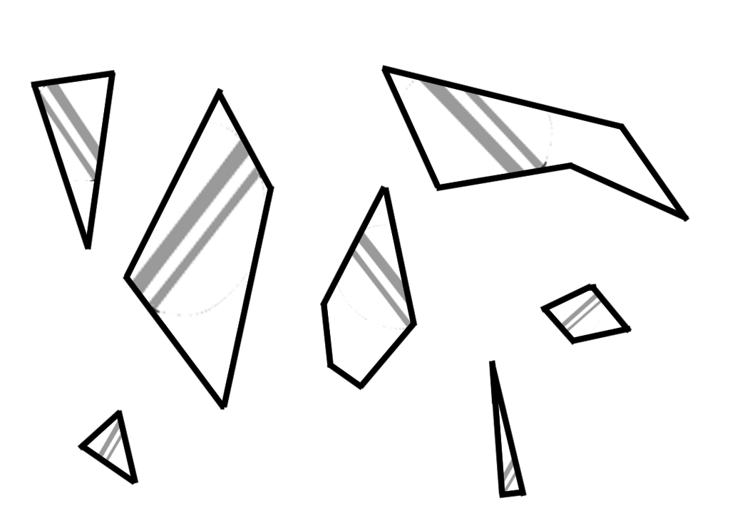 collection of broken. Glass clipart prop