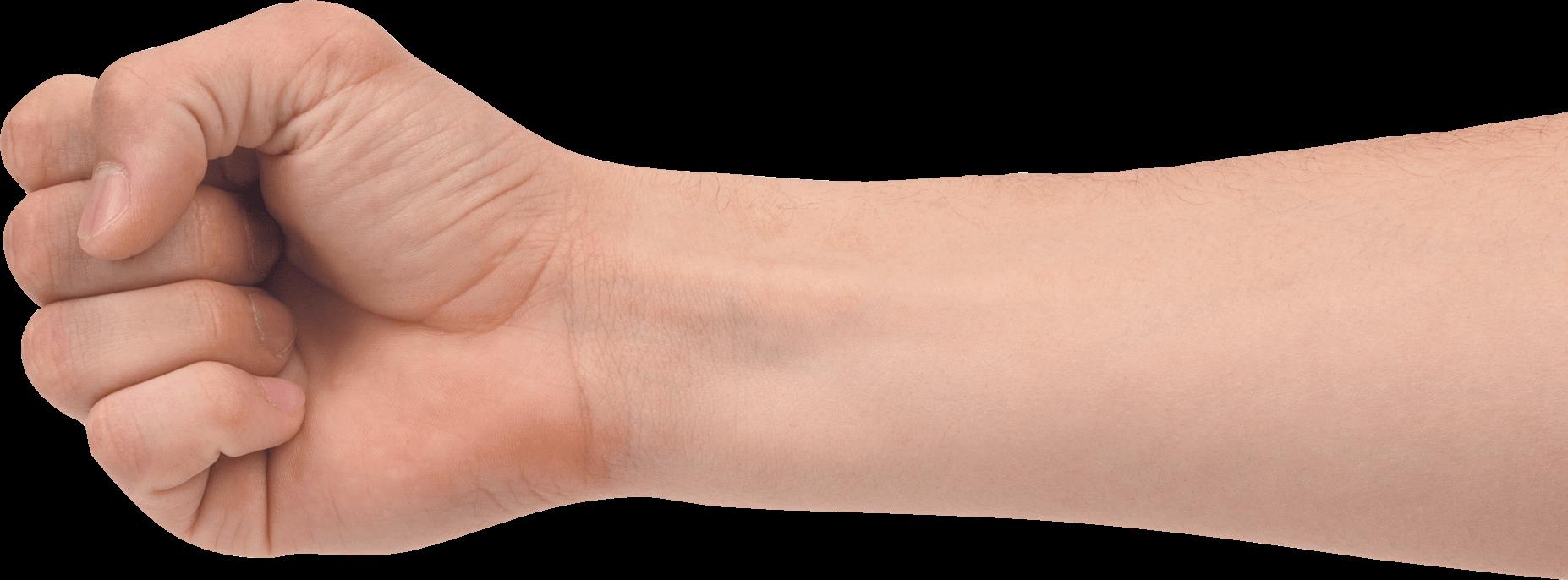 Fist clipart wrist. Hand transparent png stickpng