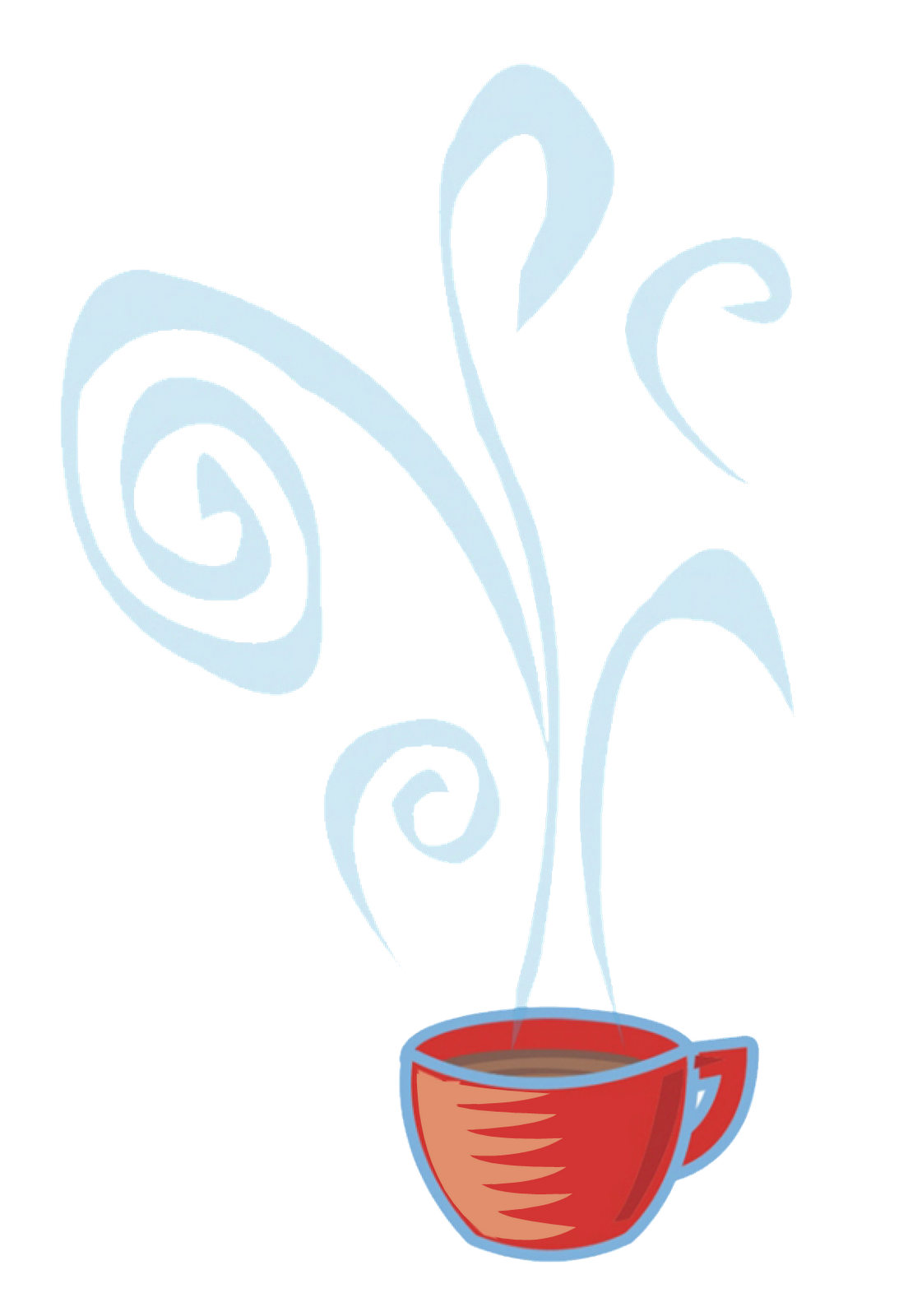 Cup clipart hot chocolate mug. Vector illustration of coffee