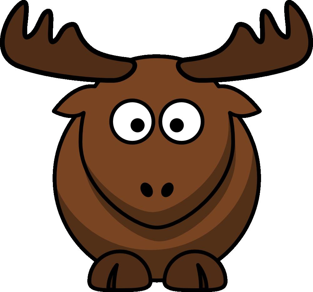 Moose clipart simple cartoon. Awesome nice pinterest elk