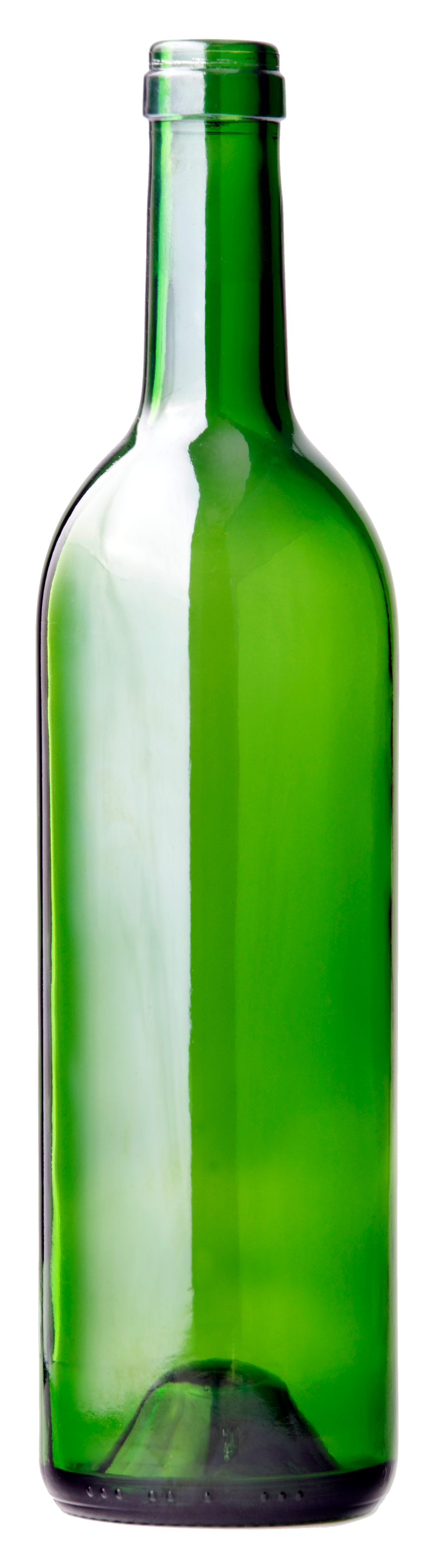 Glass seven isolated stock. Bottle png