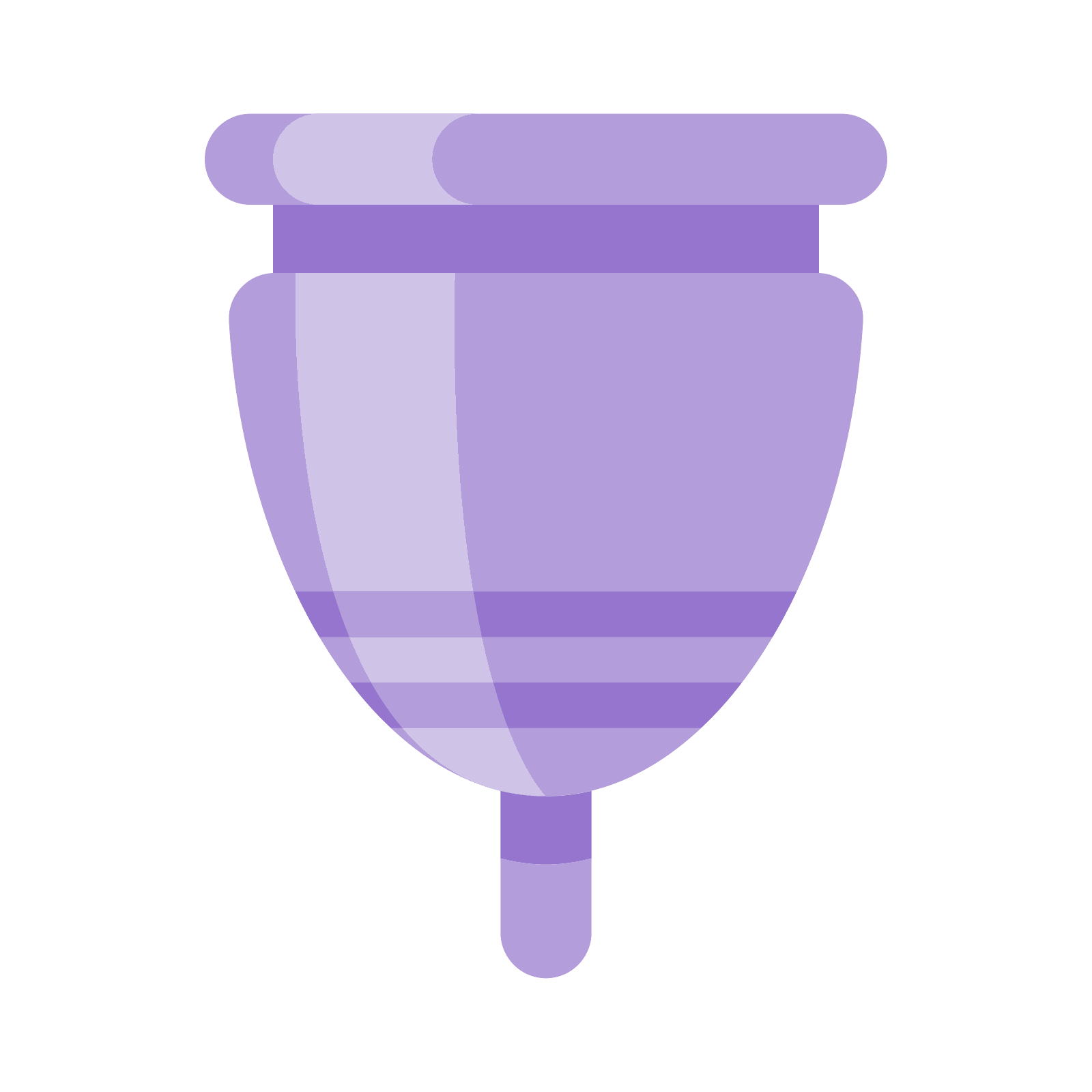 Cup clipart purple cup. Menstrual icon free download