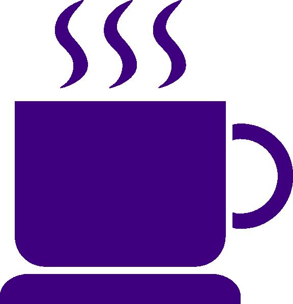 Coffee purple clip art. Mug clipart coffe mug