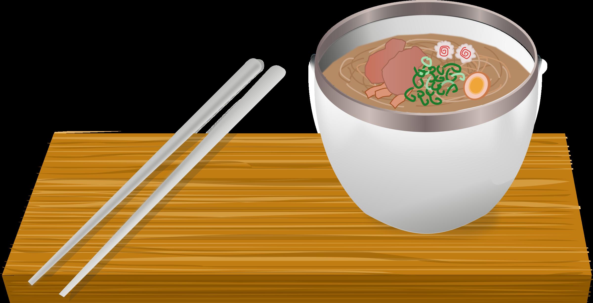 Ramen. Dish clipart soup bowl