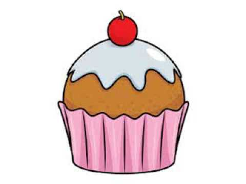Youtube. Cupcake clipart