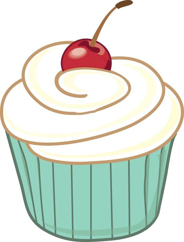 Free large images digital. Cupcake clipart