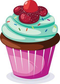 Cupcakes clipart.  best cupcake clip