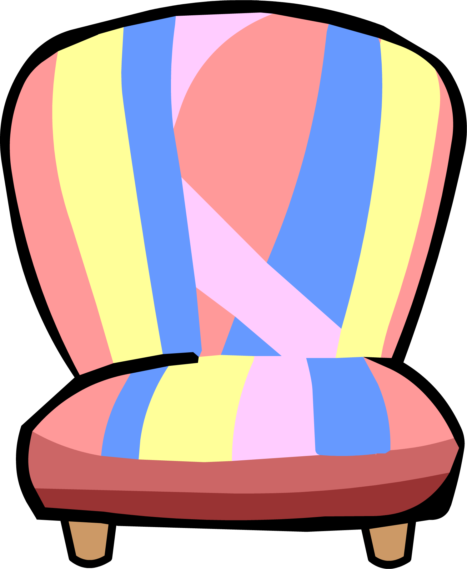 Room club penguin wiki. Mailbox clipart house furniture