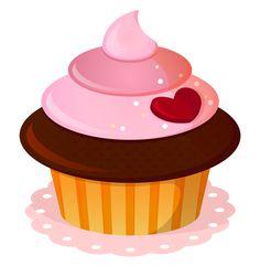 best images illustration. Cupcake clipart eye
