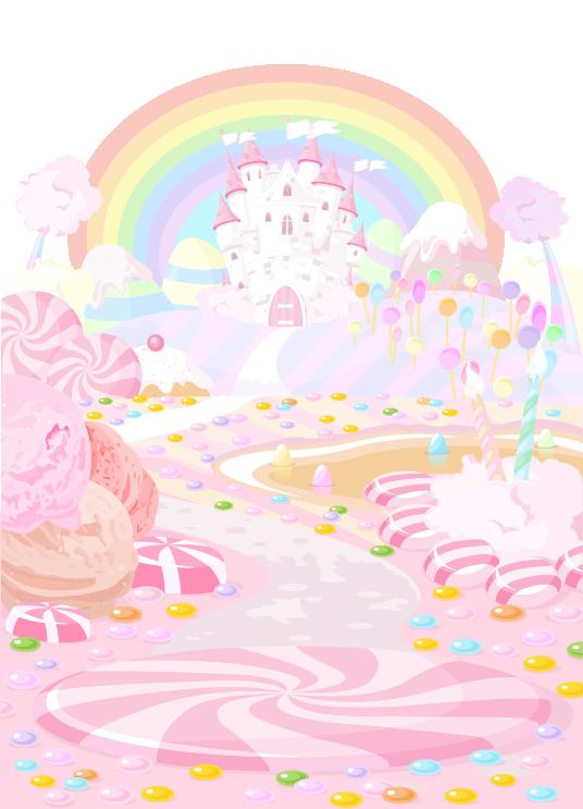 Fairies clipart cupcake. Candy land lollipop dessert