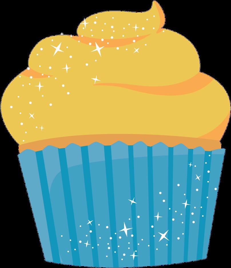 Download clip art yellow. Cupcake clipart kid
