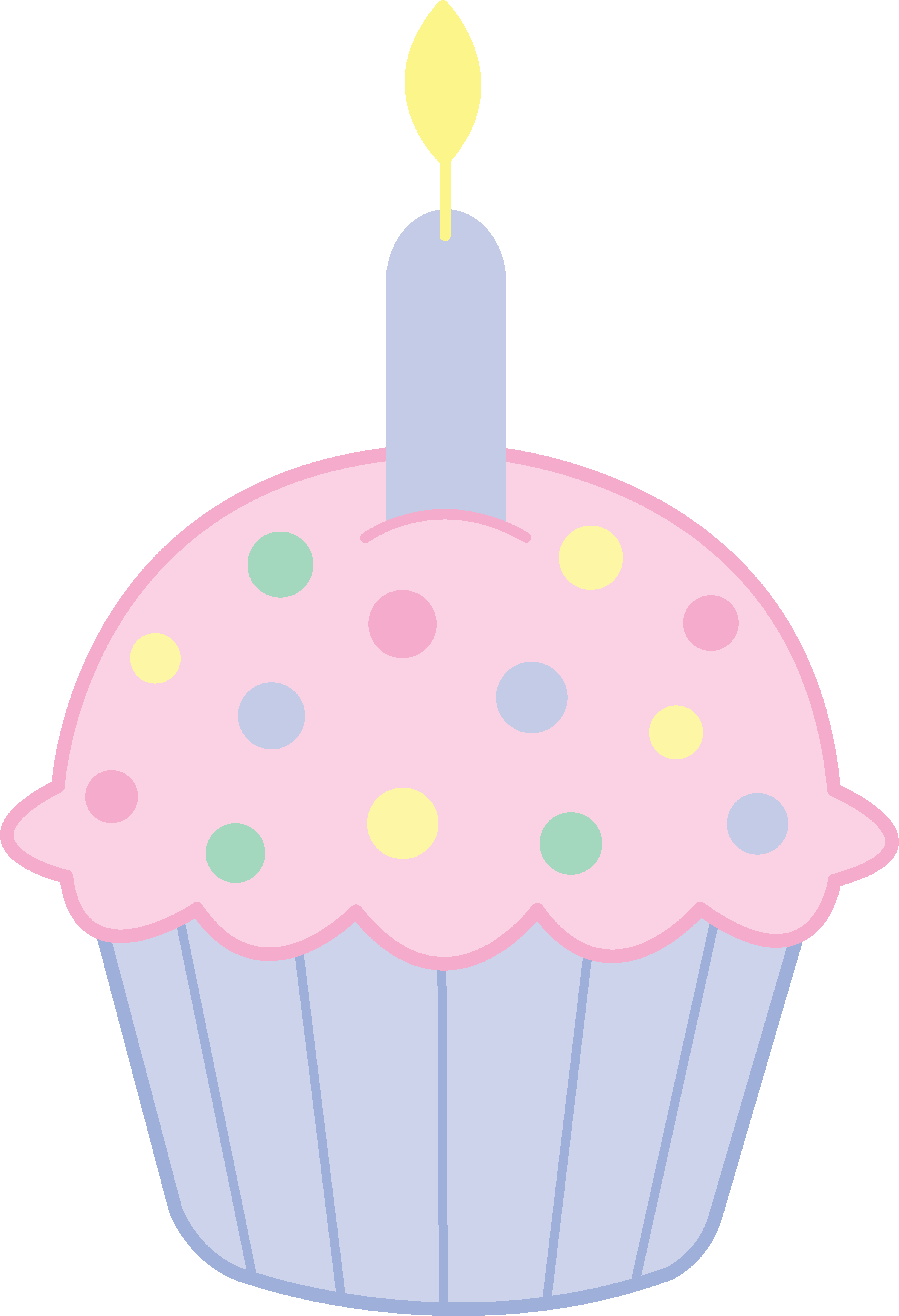 Cupcake clipart ladybug. Birthday printables pinterest birthdays