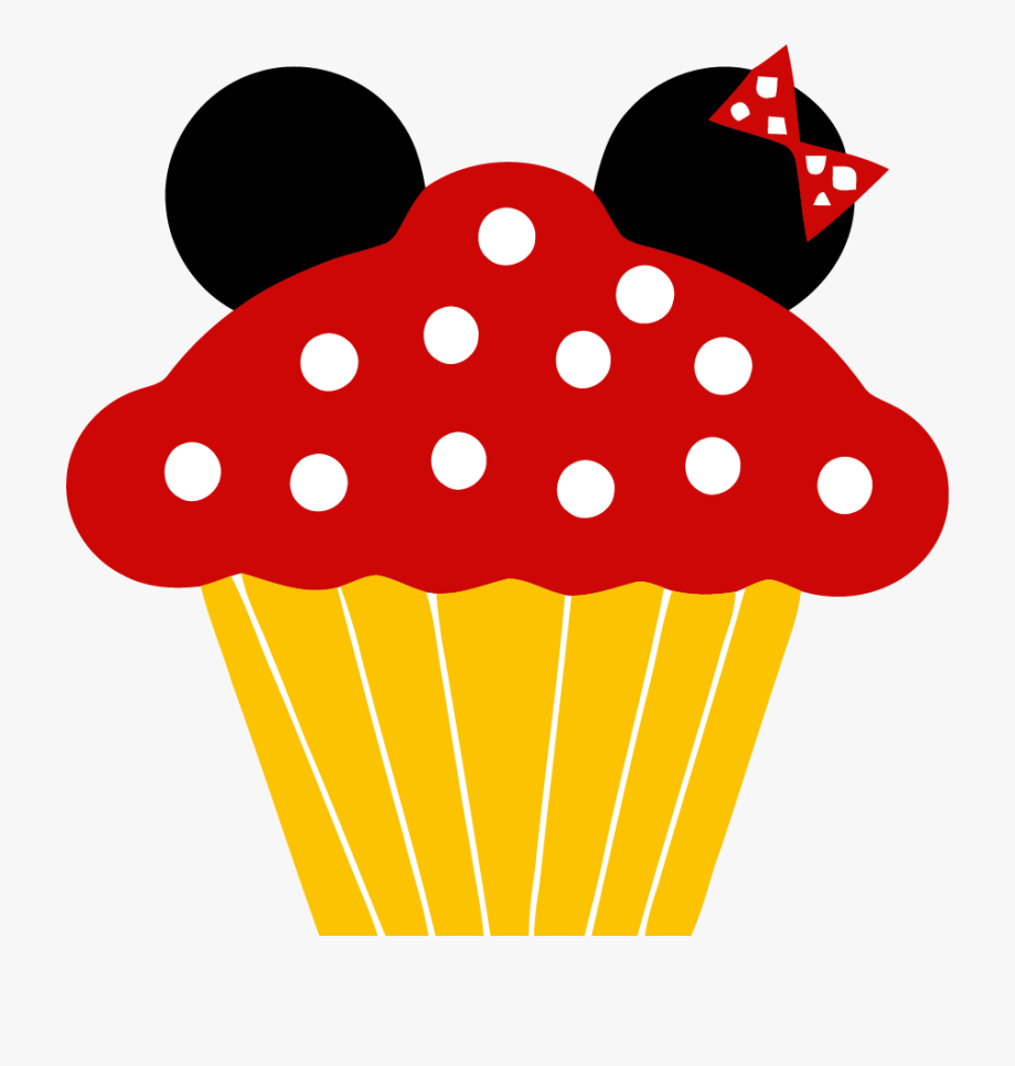 Png mickey mouse . Cupcake clipart minnie
