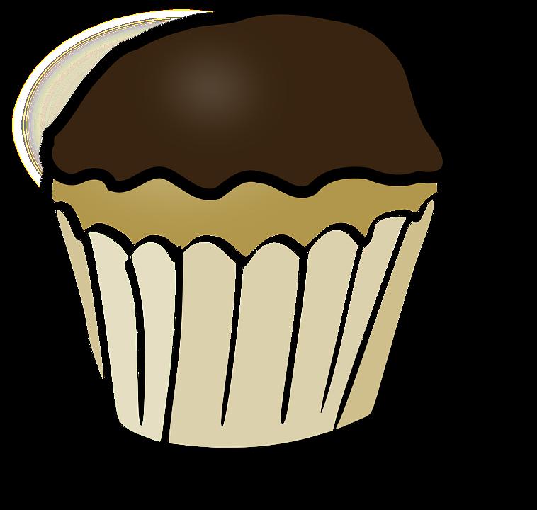 Muffins clipart buttercream. Pumpkin blank free collection