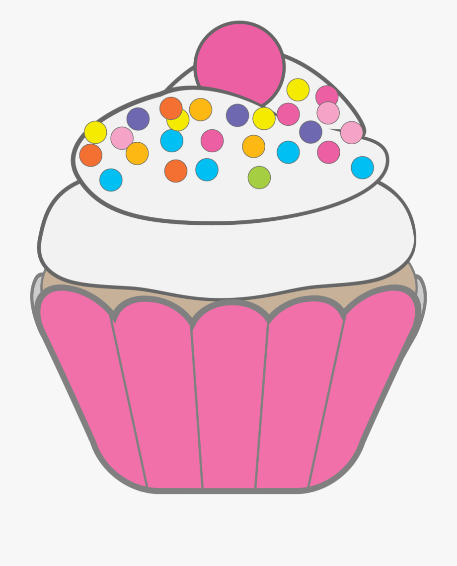 Muffins clipart easy cupcake. Black and white vanilla