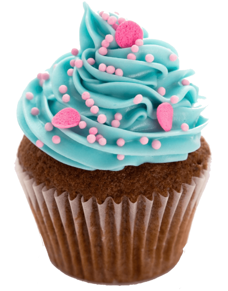 Blue transparent png stickpng. Cupcake clipart slice