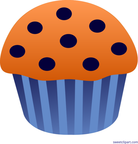 Sweet clip art page. Muffins clipart blueberry muffin