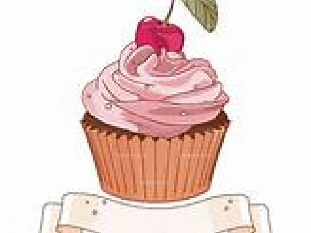 Cupcake clipart victorian. X free clip art