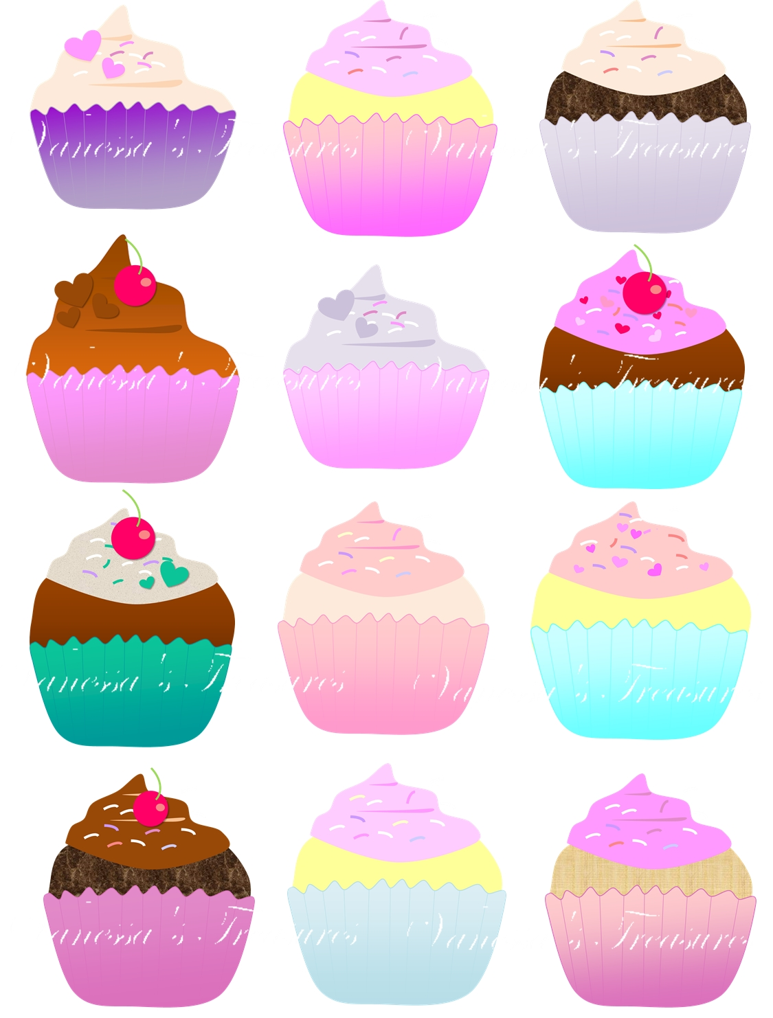And art t . Cupcakes clipart 12 cupcake