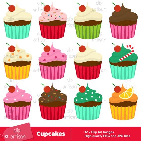 Cup cake cute clip. Cupcakes clipart 12 cupcake