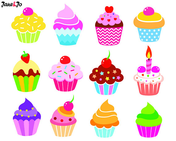 Cupcakes clipart 12 cupcake. Pin on products