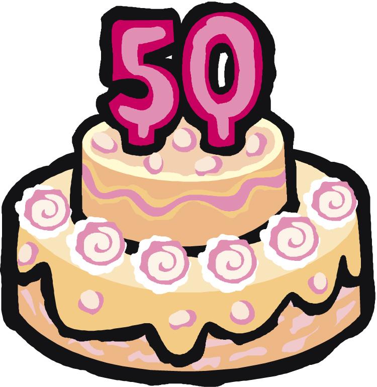 Transparent 50Th Birthday Clip Art
