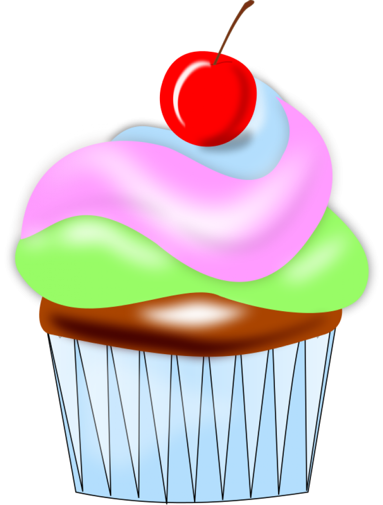 January cliparts free download. Cupcakes clipart april