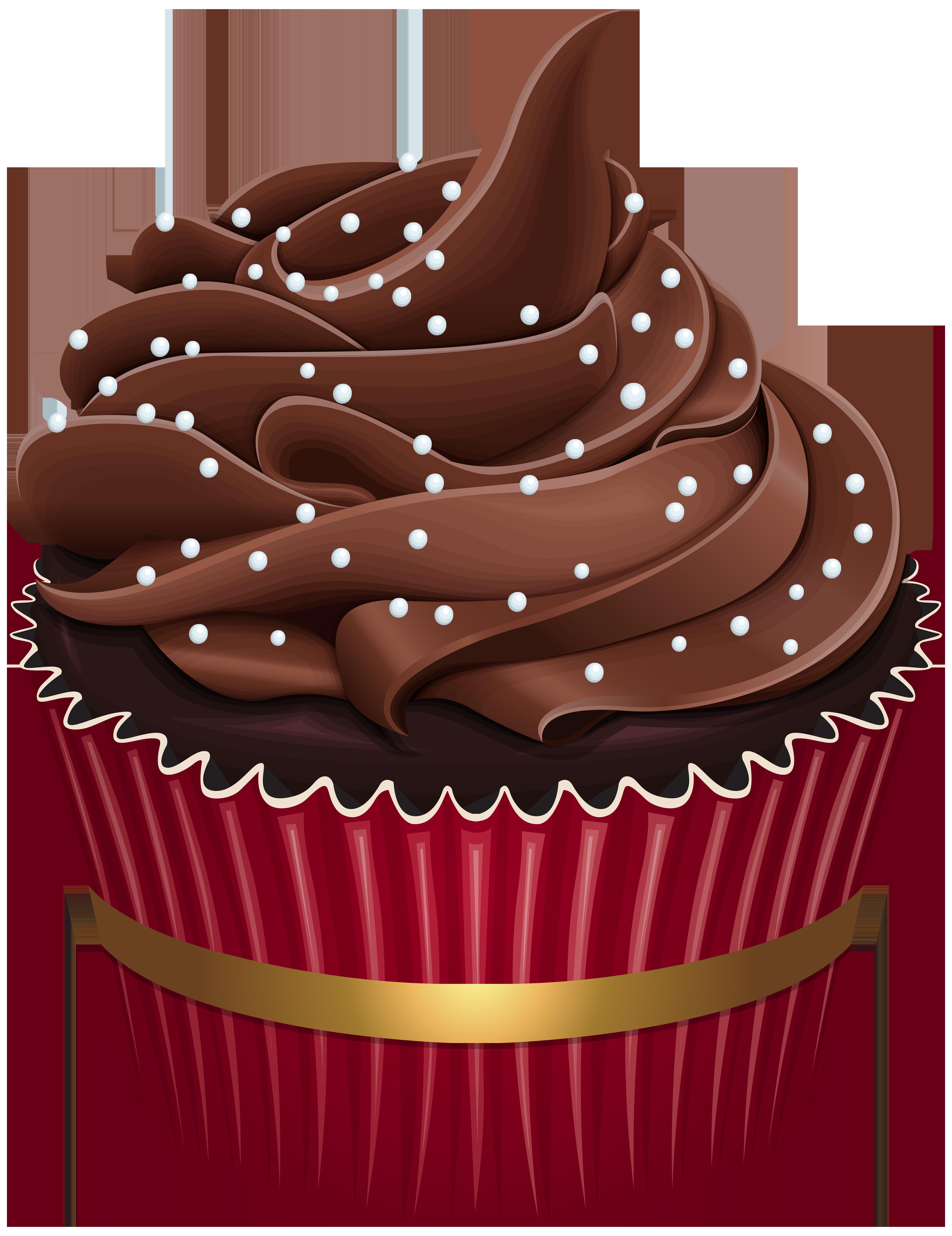 Torta clip art cupcakes. Muffin clipart 3 cupcake