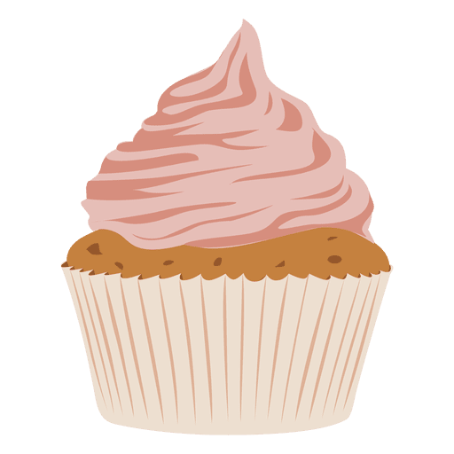 Cupcake frosting icing muffin. Cupcakes clipart buttercream
