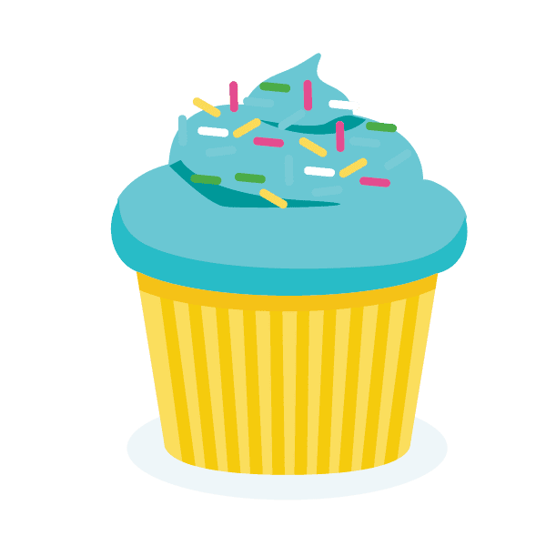 Sweetology drop in cookie. Cupcakes clipart buttercream