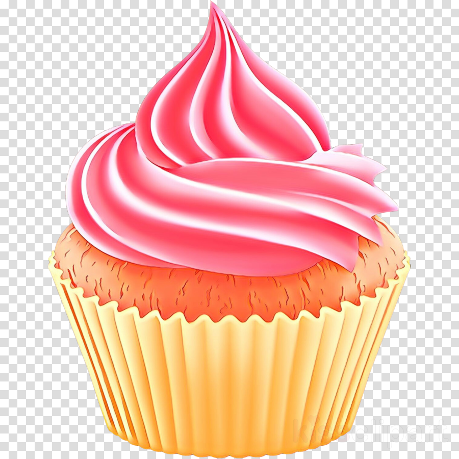 Cupcakes clipart buttercream. Cupcake baking cup icing