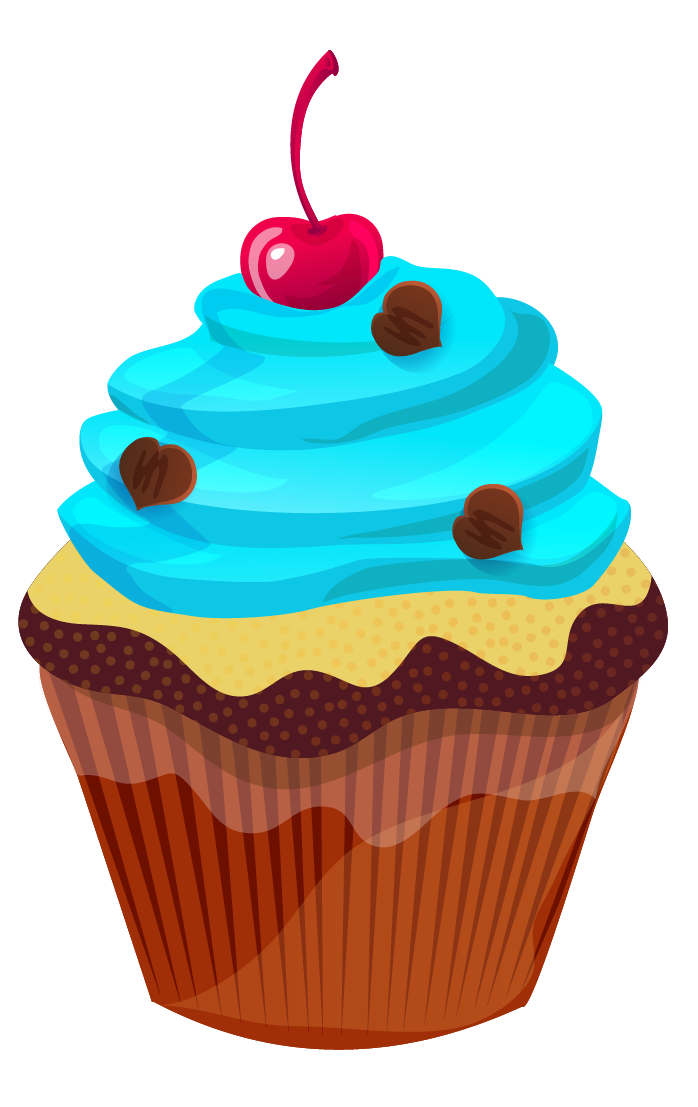 Muffin clipart april. Amazing of march cupcake