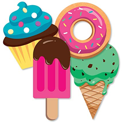 Sweet shoppe donut and. Donuts clipart ice cream