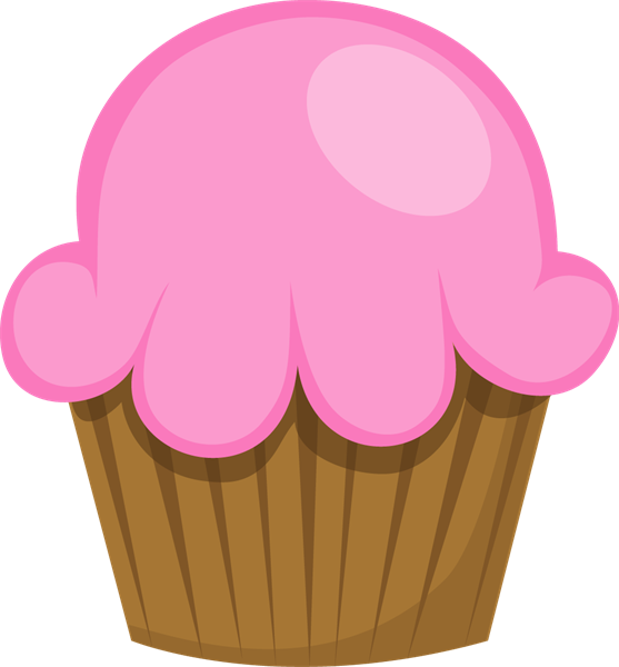 Clip art colored cupcakes. Muffin clipart colorful cupcake