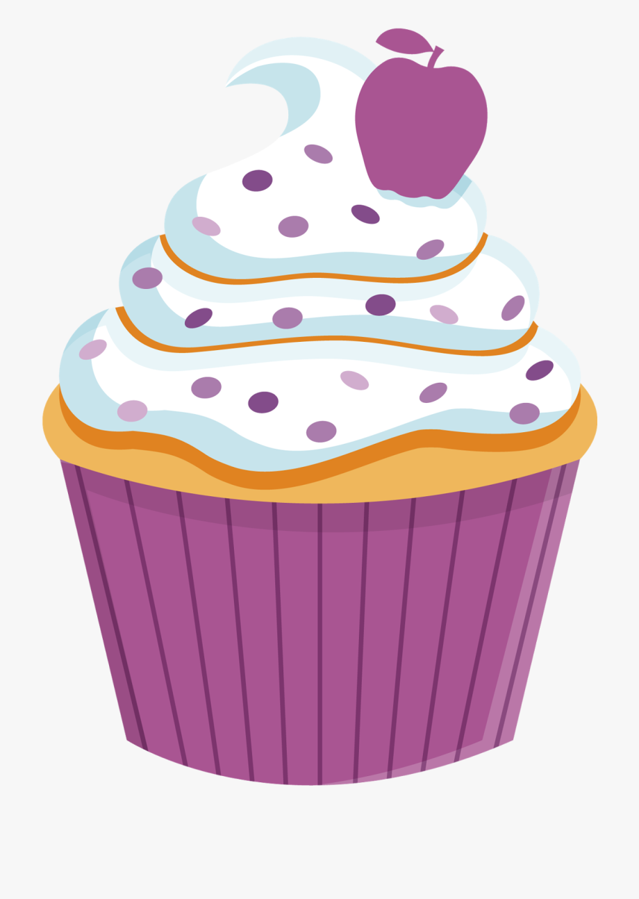 Birthday png free cliparts. Muffin clipart rainbow cupcake