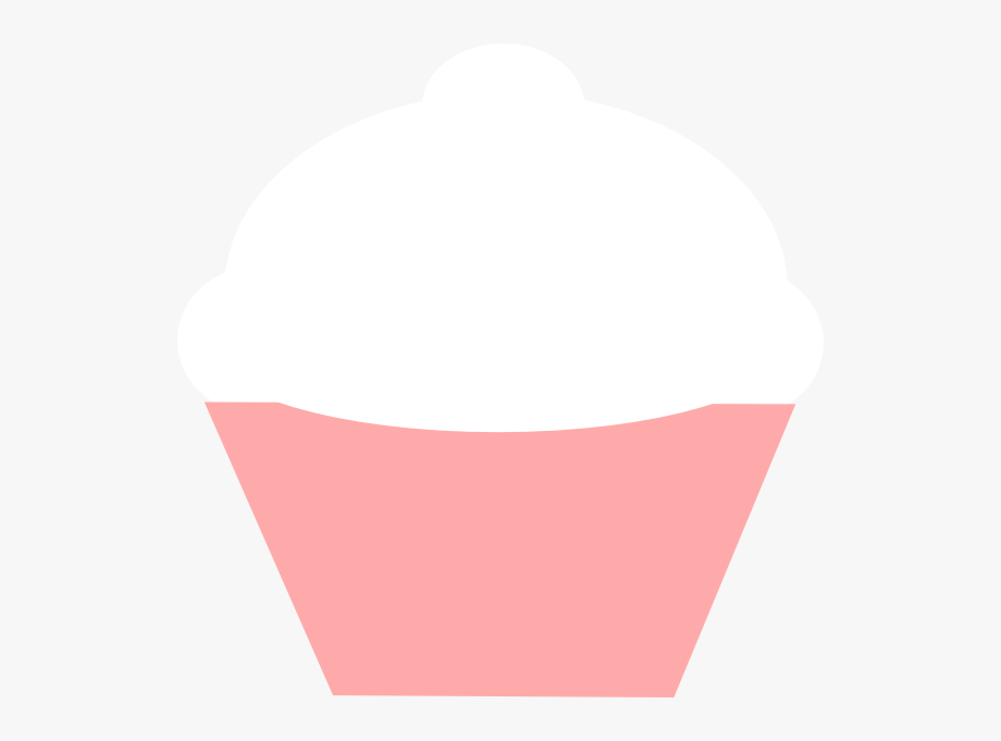 White clip art at. Cupcakes clipart easy cupcake