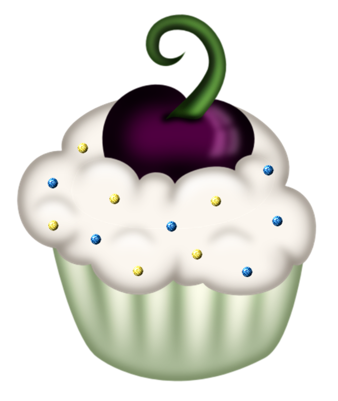 Pin by charlene ungerer. Fruit clipart cupcake