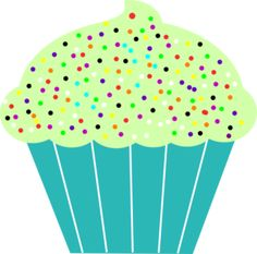 best images illustration. Muffins clipart green cupcake