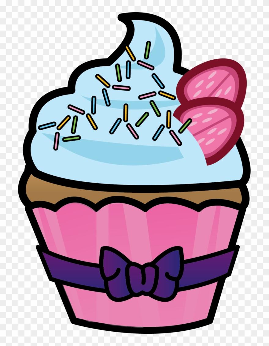 Ice clipart cupcake. Cupcakes half eaten sketsa