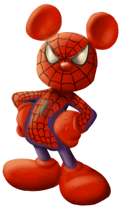 Spiderman mickey mouse pinterest. Wagon clipart history