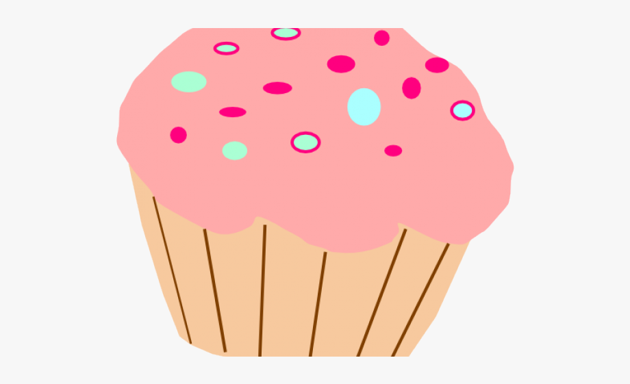 Cupcakes clipart polka dot cupcake. Cartoon free cliparts on