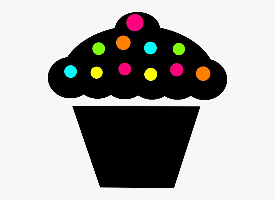 Cupcakes clipart polka dot cupcake. Clip art at clker