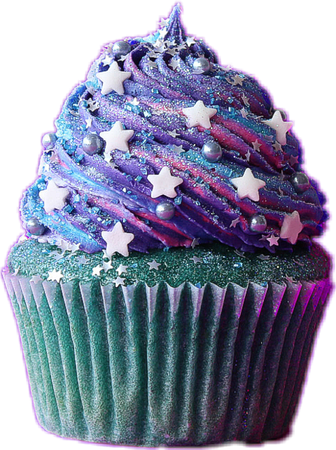 Cupcakes clipart violet cake. Cupcake sticker challenge by