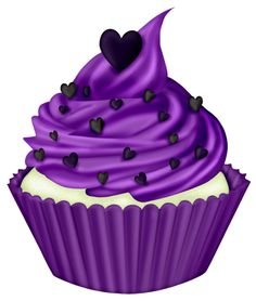 Free purple cliparts download. Cupcakes clipart violet cake