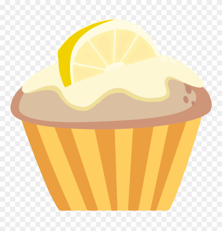 Muffin clipart yummy cupcake. Limon cupcakes png