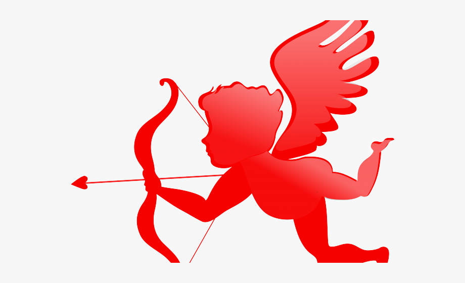 Valentines day angel . Wing clipart cupid wings