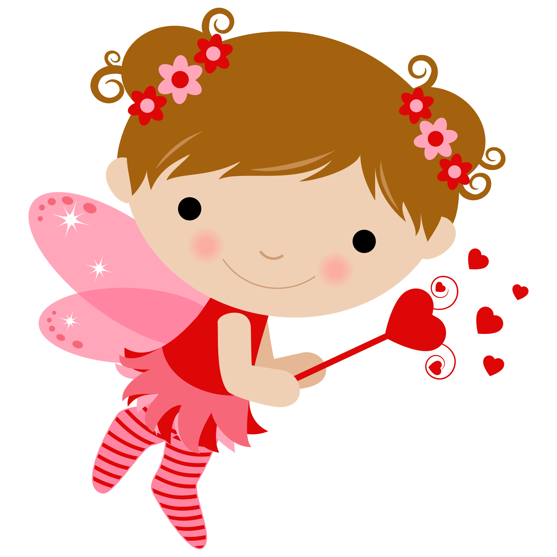 alas hadas pinterest. Cupid clipart baby girl