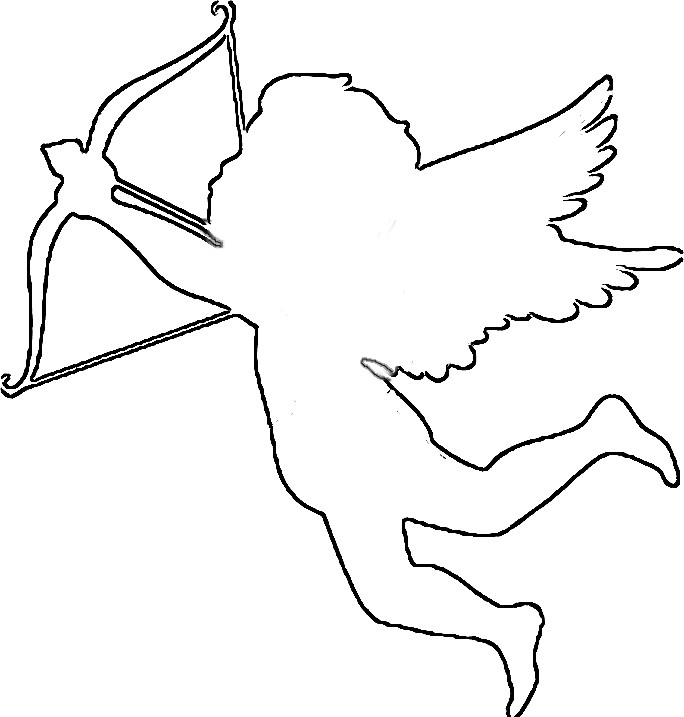 Free download clip art. Cupid clipart easy