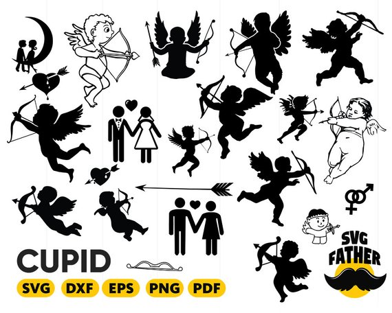 Cupid clipart file. Pin on products
